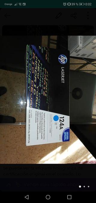 Cartucho Tóner HP LaserJet Cian (Q6001A)