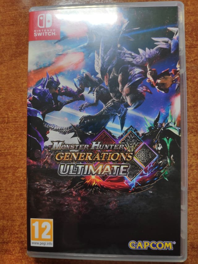 Monster Hunter Generations Ultimate para Switch