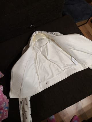 chaqueta polipiel Zara