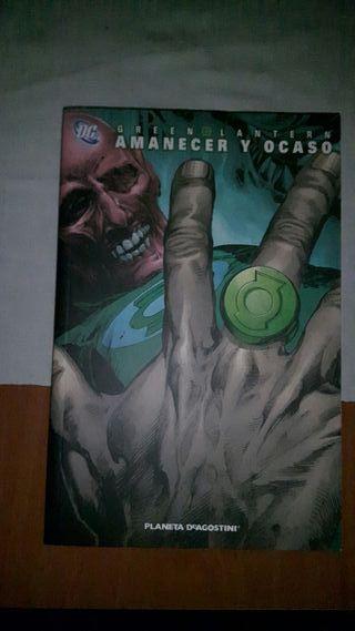 Green Lantern Amanecer y Ocaso
