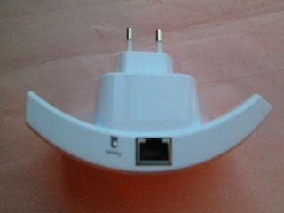 Repetidor de red Wifi + cable