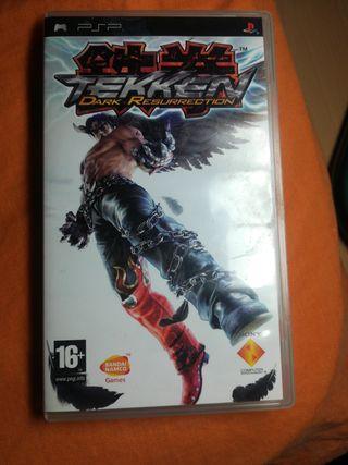 Tekken Dark Resurrection. Juego PSP