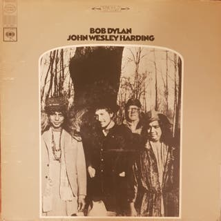 BOB DYLAN - John Wesley Harding (Disco, LP)