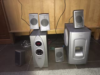 Home cinema con 6 altavoces