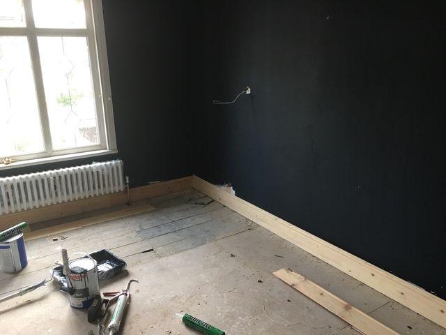 All building work taken
