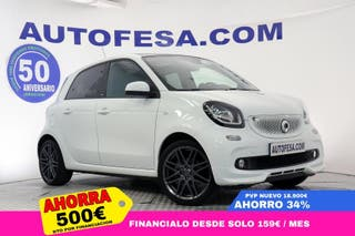Smart ForFour 0.9 Turbo Passion 90cv Auto Pack Brabus 5p S/S