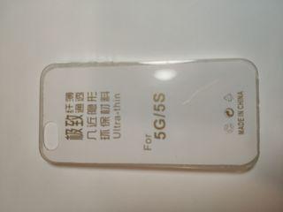 Funda NUEVA transparente iPhone SE/5/5s