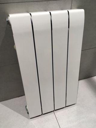 Radiador de aluminio de 4 elementos Baxi DUBAL 60
