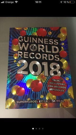 Guinness world récords 2018