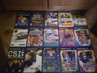 juegos y accesorios play 2