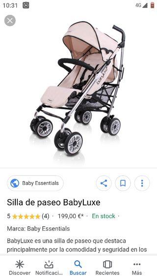 Se vende silla de paseo de niño.