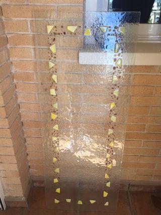 Cristal tallado para puerta