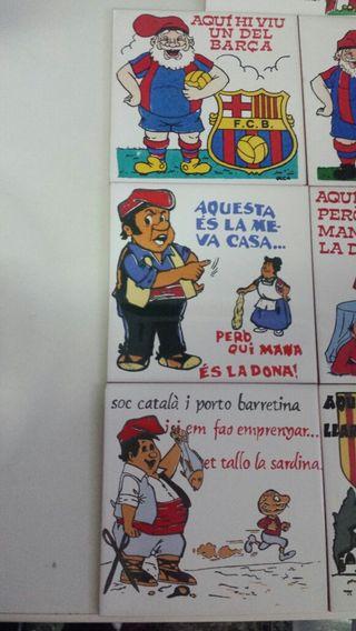 Baldosas de Cerámica Cómicas.