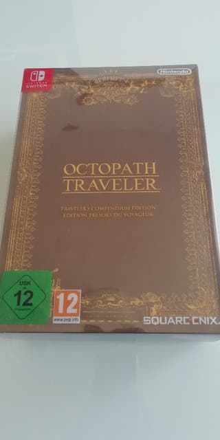 Octopath Traveller Compendium Edition Switch