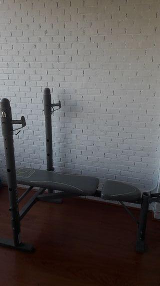 Banco de Musculación + Rack