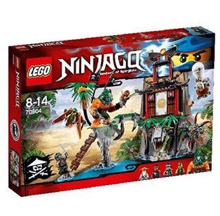 Lego Ninjago.La isla de la Viuda del Tigre.(70604)