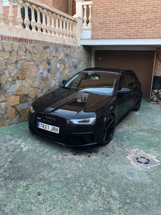 Audi RS4 black edition backets 2014