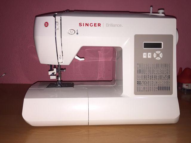 Maquina de coser Singer Brilliance 6180 nueva de segunda