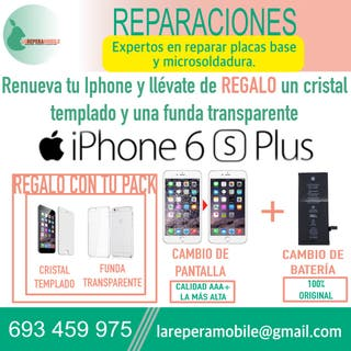 Cambio pantalla iPhone 6s Plus batería 6s plus
