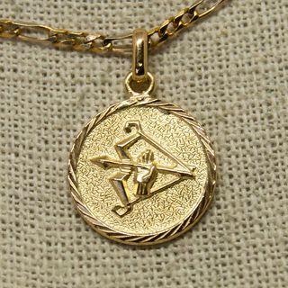 Medalla horóscopo, SAGITARIO, de oro de 18K
