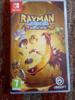 Rayman Leyends Nintendo Switch