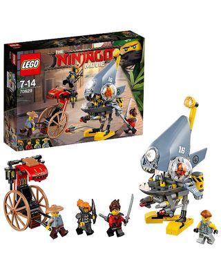 Lego Ninjago. Ataque de la piraña. (70629)