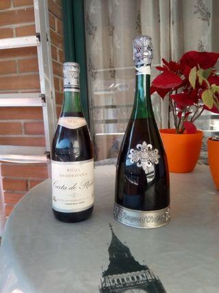 dos Botellas antiguas