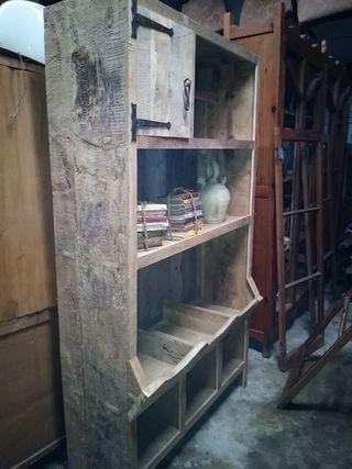 Mueble cocina rústico