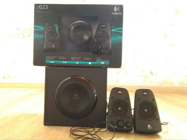 Altavoces Logitech Speaker System Z623