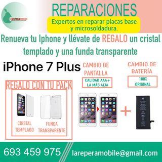 Cambio pantalla iPhone 7 Plus batería 7 plus