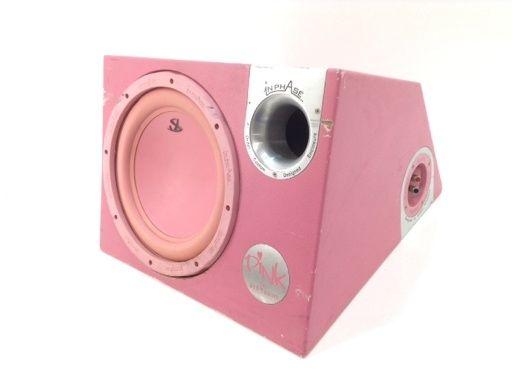 Subwoofer hifi inphase pink xtp12a