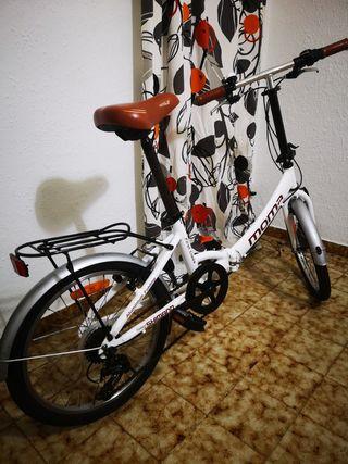 "Bicicleta Plegable Moma 20"""