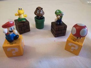 Lote 5 piezas Mario y Luigi
