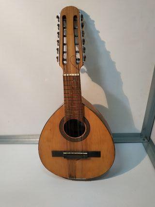 Bandurria antigua guitarra de Jose Mas y Mas