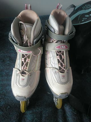 Patines + mochila para patines.