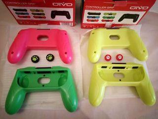 2 Grips para mandos + 2 protección silicone pulgar