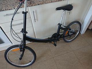 bicicleta plegable aluminio