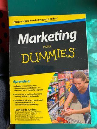 Libro Marketing para Dummies