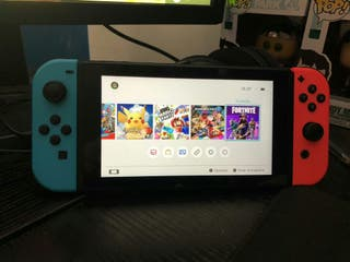 Nintendo Switch + 12 Juegos