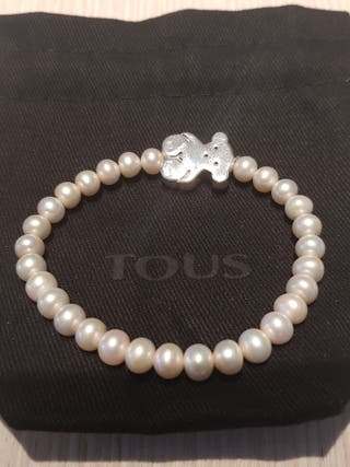 5378d270c221 Pulsera de perlas cultivadas de segunda mano en Madrid en WALLAPOP