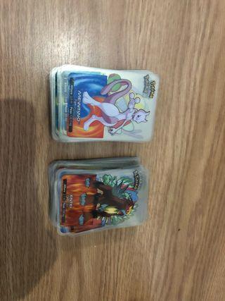 Lote de mas de 170 lamincards de pokemon