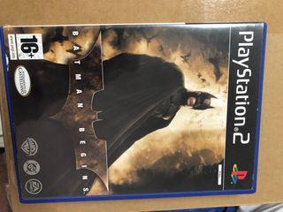 Batman Begins playstation 2.
