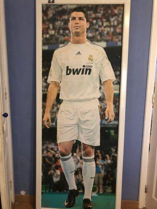 Vendo póster tamaño real de Cristiano Ronaldo