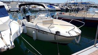 barca quicksilver activ 535 + mercury 75