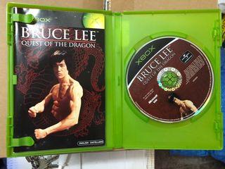 Bruce Lee Xbox clásica PAL