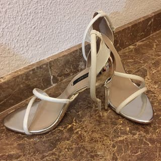 14553146ba1 Sandalias plateadas de segunda mano en Alicante en WALLAPOP