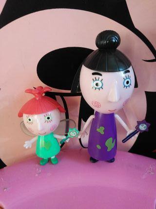 muñecos de programa ben y holly