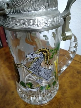 jarra de cerveza alemana