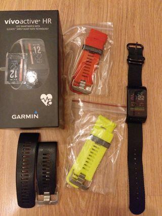 Garmin vivoactive hr, smartwatch