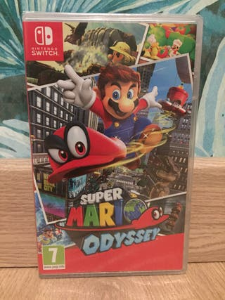 Super Mario Odissey Switch Precintado